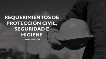 Enlace permanente a:Capacitación en requerimientos de protección civil